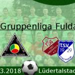 Logo Teutonia Großenlüder gegen Oberaula 2018