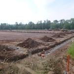 Drainagearbeiten