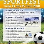 Sportfest 13. – 15.07.2018 / 110-Jahre Teutonia