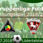 Saison- & Gruppenliga-Eröffnungsspiel