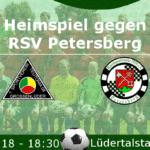 Heimspiel gegen Petersberg