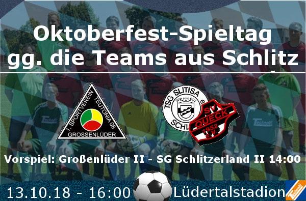 Oktoberfest u. Heimspiel Schlitzerland