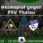 Heimspiel gegen Thalau 2018