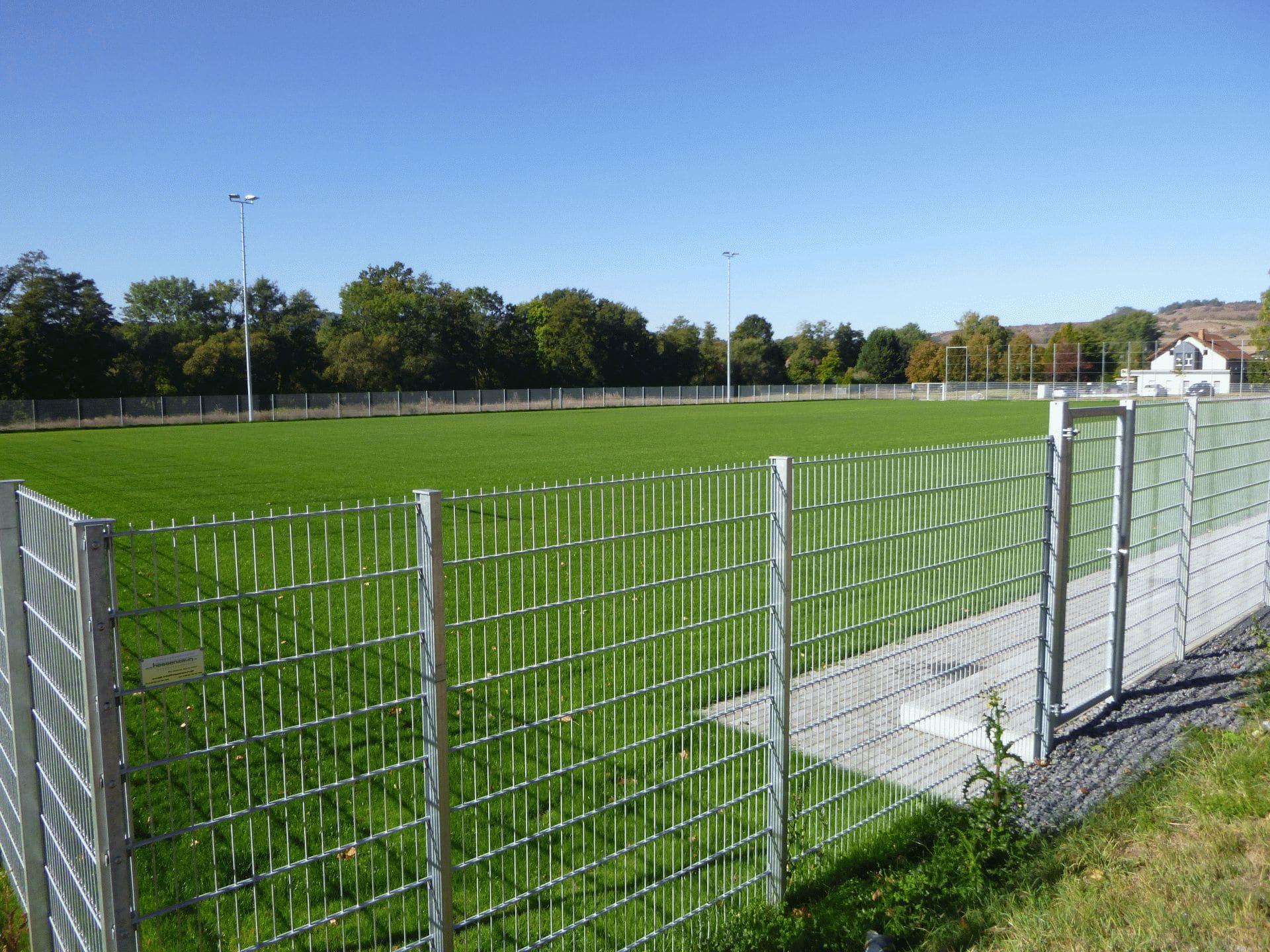 Einweihung neuer Sportplatz
