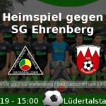 Heimspiel gegen SG Ehrenberg, 28.04.2019, 15:00 Uhr