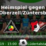 Heimspiel gegen Oberzell/Züntersbach
