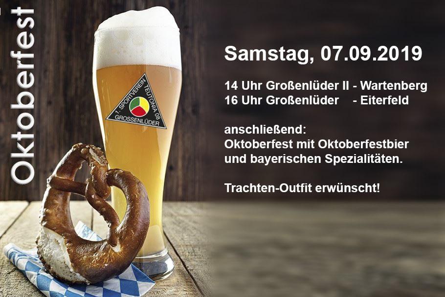 Oktoberfest-Heim-Spieltag