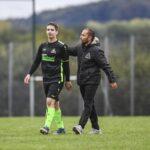 Christopher und Trainer Francisco