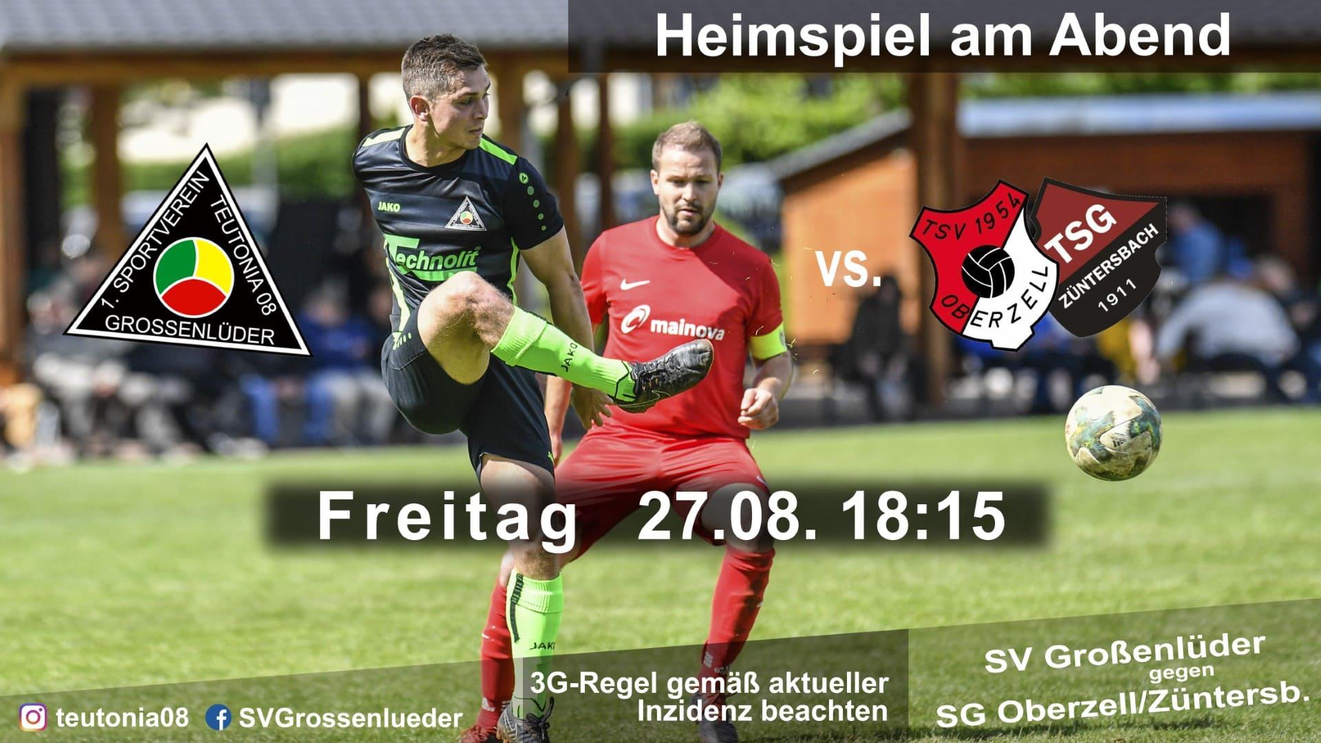 Oberzell Züntersbach Heimspiel 2021